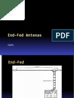 Antenas End Fed