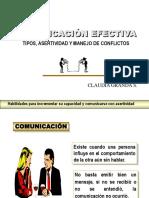 Comunicaciòn efectiva- Manejo de Conflictos- coaching y desempeño.ppt