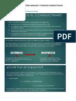 Apuntes de Analisis y Tecnicas Conductuales