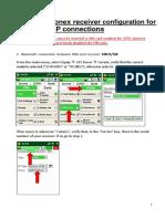 Geodetski-GPS-survce Stonex Receiver Konfiguriranje Ntrip Povezave