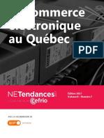 Le Commerce Electronique Au Quebec