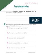 Ficha Emocionario 35 Frustracion
