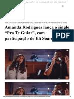 Amanda Rodrigues lança o single _Pra Te Guiar_, com participação de Eli Soares - Instituto Teológico Gamaliel.pdf