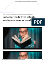 Amazon vende livro infantil, ensinando invocar demônios - Instituto Teológico Gamaliel.pdf