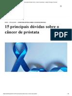 15 principais dúvidas sobre o câncer de próstata - Instituto Teológico Gamaliel.pdf
