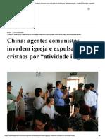 """China_ agentes comunistas invadem igreja e expulsam cristãos por """"atividade ilegal"""" - Instituto Teológico Gamaliel.pdf"""