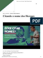 Citando o nome dos Hereges - Instituto Teológico Gamaliel.pdf