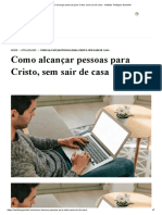 Como alcançar pessoas para Cristo, sem sair de casa - Instituto Teológico Gamaliel.pdf