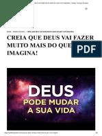CREIA QUE DEUS VAI FAZER MUITO MAIS DO QUE VOCÊ IMAGINA! - Instituto Teológico Gamaliel.pdf