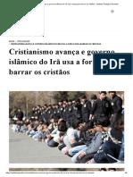 Cristianismo avança e governo islâmico do Irã usa a força para barrar os cristãos - Instituto Teológico Gamaliel.pdf