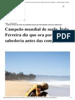 Campeão mundial de surfe, Ítalo Ferreira diz que ora por sabedoria antes das competições - Instituto Teológico Gamaliel.pdf
