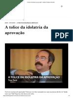 A tolice da idolatria da aprovação - Instituto Teológico Gamaliel.pdf