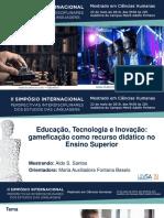 Apresentação SIPIEL - Aldo Santos