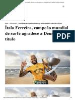 Ítalo Ferreira, campeão mundial de surfe agradece a Deus pelo título - Instituto Teológico Gamaliel.pdf