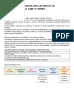 Guia Estudio Filosofia de Las Ciencias Del Comportamiento PDF