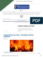 Teoria Básica Do Fogo - Proteção Contra Incêndio