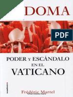 SODOMA. PODER Y ESCANDALO EN EL VATICANO.