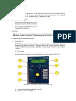 Manual de Operacion Rele SEL751
