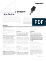 Temperature Sensors Line Guide