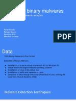 Binary Malwares Detection (2)