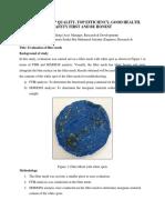 Evaluation Filter Mesh