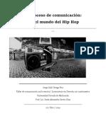 ensayo sobre el hip-hop