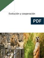 evolución y cooperacion