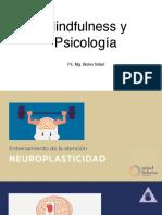 Mindfulness y Psicología. Bruno Solari. Jornada Egresados UNIACC Agosto19