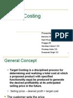 Target Costing Final