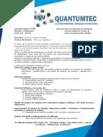 Carta de Presentacion Quantumtec Sac