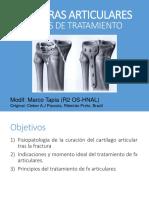 PRINCIPIOS DE FRACTURAS ARTICULARES