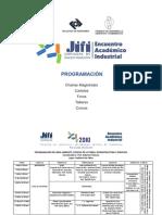 Programa JIFI 2010