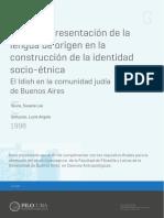 Uusos y representación de la lengua de origen en la construcción de la identidad