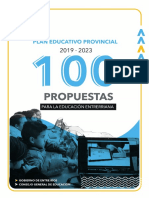 100 propuestas para Educación 2019-2023