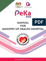 Manual for MOH Hospital