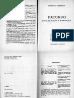 Introducción COLIHUE a Facundo de Sarmiento