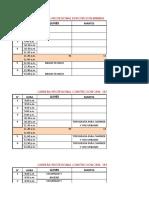 Horario de 2015 Pch Libro1
