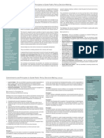 Commitment and Principles of Policy Making Volume Part 3
