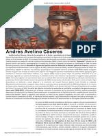 Andrés Avelino Cáceres _ Historia del Perú