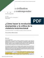 ¿Cómo hacer la revolución_ Los anarquistas y la crítica de la violencia insurreccional.pdf