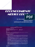 Traumatología Forense I (Reconocimiento Médico Legal)
