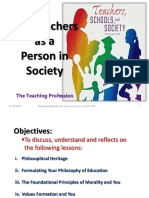 Chapter1 the Teachers as a Person in Society