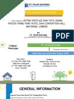 Metode Kerja Proyek Prime Park Lombok Pt. Pilar Ekatama