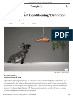 What is Operant Conditioning_ Definition and Examples