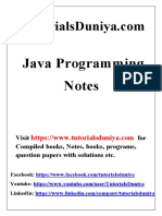 Java Notes2 - TutorialsDuniya