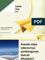 Orientasi PPRG
