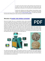 Function of Mineral Powder Double Roller Press Granulator