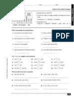 Review Skills Worksheets