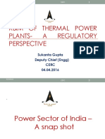 R&M of Thermal Generating Stations- A Regulatory Perspective