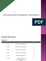 Post Graduate Diploma in Human Resource Management